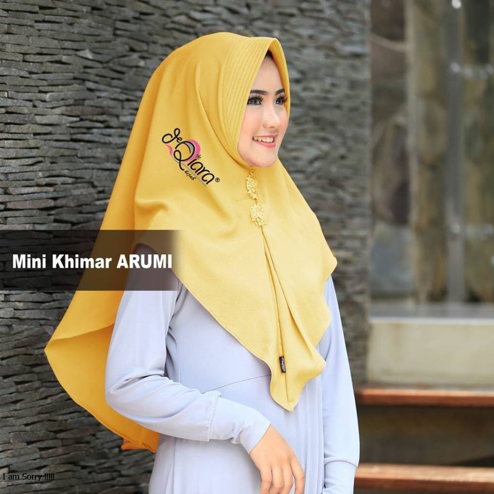 GROSIR Jilbab Instan MINI KHIMAR ARUMI By Qiara Jilbab Instan Pasmina Instant