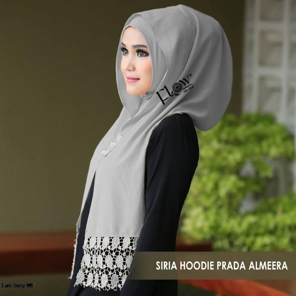GROSIR Jilbab Instan SIRIA HOODIE PRADA ALMEERA By Flow Idea Jilbab Instan Pasmina Instant